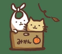 usagi&nekosuke sticker #121776