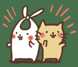 usagi&nekosuke sticker #121785