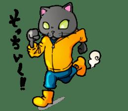 bakuneko/ tsumire family sticker #122860