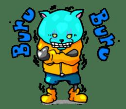 bakuneko/ tsumire family sticker #122861