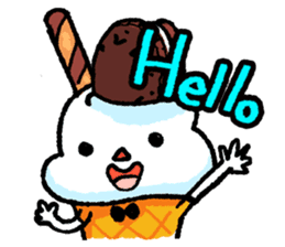 Mr. Ice Cream sticker #123191