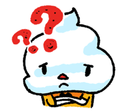 Mr. Ice Cream sticker #123205