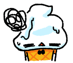 Mr. Ice Cream sticker #123212