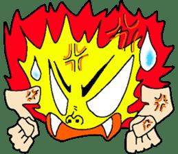 Blue Fire JP sticker #123391