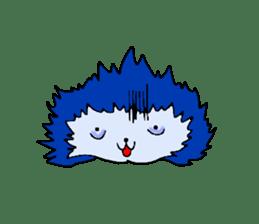 Blue Fire JP sticker #123400