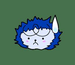 Blue Fire JP sticker #123415