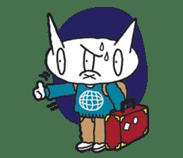 3Balls Travel Diary sticker #123624