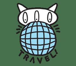 3Balls Travel Diary sticker #123655