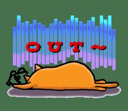 Orange Cat sticker #124546