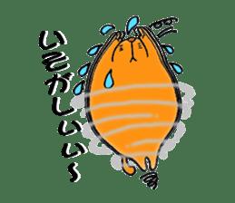 Orange Cat sticker #124547