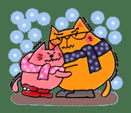 Orange Cat sticker #124556