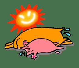 Orange Cat sticker #124558