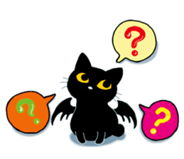 Gill The Black Cat sticker #124702