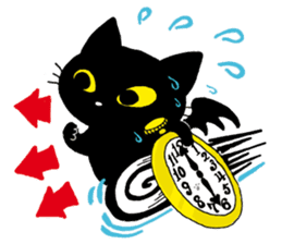 Gill The Black Cat sticker #124707