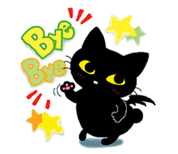 Gill The Black Cat sticker #124710