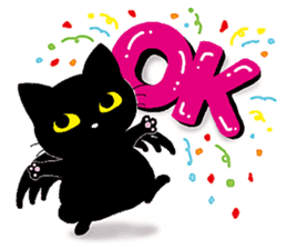 Gill The Black Cat sticker #124711