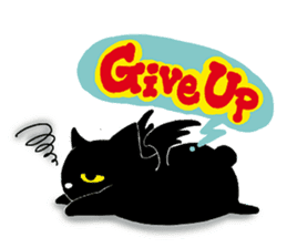 Gill The Black Cat sticker #124716