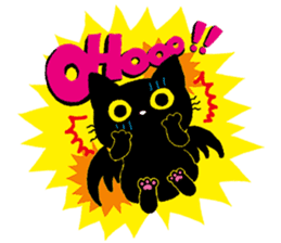 Gill The Black Cat sticker #124721