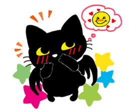 Gill The Black Cat sticker #124722