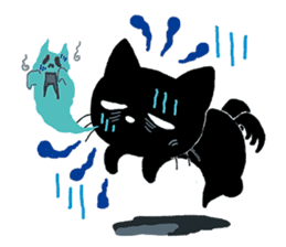 Gill The Black Cat sticker #124724