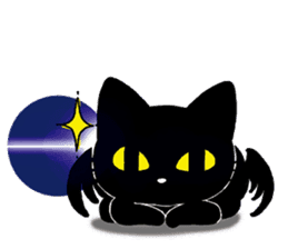Gill The Black Cat sticker #124731