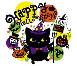 Gill The Black Cat sticker #124733