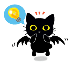Gill The Black Cat sticker #124734