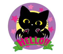 Gill The Black Cat sticker #124739