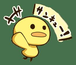 Hiyoko_Stamp sticker #124864