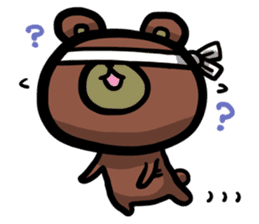 Rabbit and Bear -Bad Status- sticker #124906