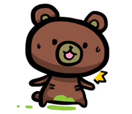 Rabbit and Bear -Bad Status- sticker #124912