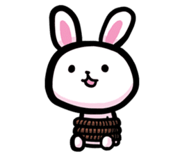 Rabbit and Bear -Bad Status- sticker #124916