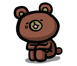 Rabbit and Bear -Bad Status- sticker #124919