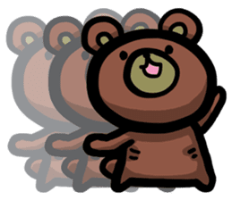 Rabbit and Bear -Bad Status- sticker #124920