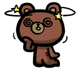 Rabbit and Bear -Bad Status- sticker #124928