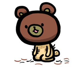 Rabbit and Bear -Bad Status- sticker #124934