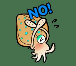 Bigfin reef squid sticker #125149