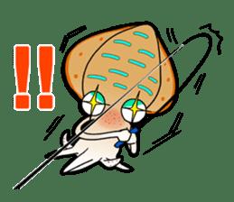 Bigfin reef squid sticker #125156