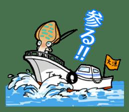 Bigfin reef squid sticker #125158