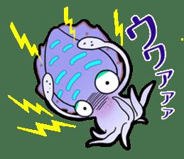 Bigfin reef squid sticker #125167