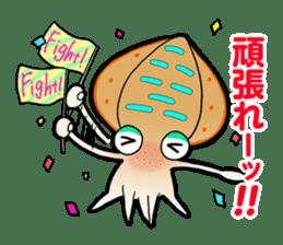 Bigfin reef squid sticker #125171