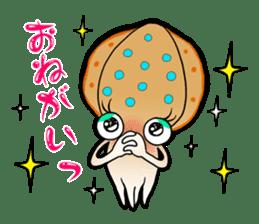 Bigfin reef squid sticker #125172