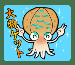 Bigfin reef squid sticker #125174