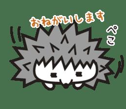 """Hedgehog""""Bug"""" sticker #125194"""