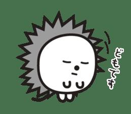 """Hedgehog""""Bug"""" sticker #125199"""