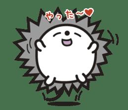 """Hedgehog""""Bug"""" sticker #125200"""
