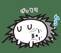"""Hedgehog""""Bug"""" sticker #125209"""