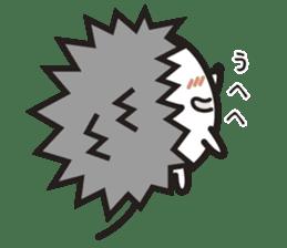 """Hedgehog""""Bug"""" sticker #125212"""