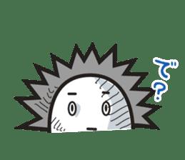 """Hedgehog""""Bug"""" sticker #125213"""