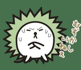"""Hedgehog""""Bug"""" sticker #125216"""